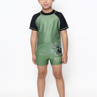 ROCK LOBSTER BOYS SHORT SLEEVES RASHGUARD (0229)