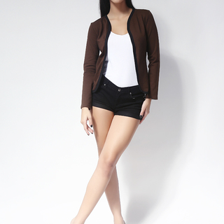 Ashley Collection Feona Cardigan (484-Brown)