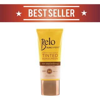 BELO SUN EXPERT PERFECTING SHIELD TINTED SUNSCREEN SPF50 50ML