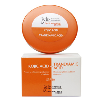 Belo Intensive Whitening Face & Neck Cream (Kojic + Tranexamic Acid) with SPF 30 50g