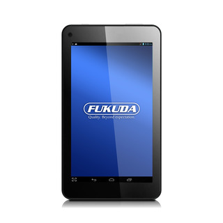 "Fukuda 7"" Android 4.4 Tablet, 8GB Quad-Core FCT-74AW8 Black"