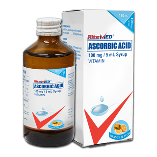 Ascorbic Acid 100mg/ 5mL Syrup (1 Bottle)