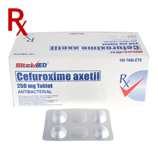 Cefuroxime 250mg Tablet (1pc) Rx