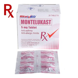 Montelukast Chew 5mg Tablet (4pcs) Rx