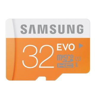 Samsung - EVO Class 10 Micro SDHC up to 48MB-s without Adapter - 32GB