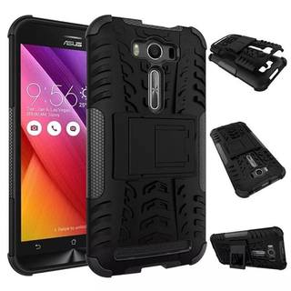 Tough Rugged Dual Layer Protection Case with Kick Stand for Asus Zenfone Max.