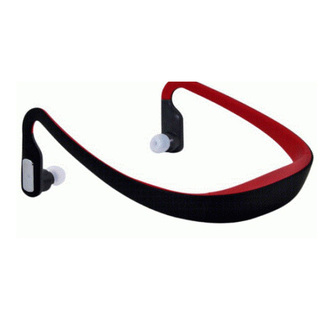 Stereo Sports Bluetooth Headset - Red