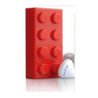 Block MP3 Player - Red