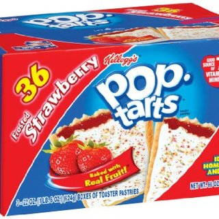 Kellogg's Poptarts Frosted Strawberry 1.87kg