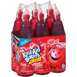 Kool-Aid Burst Cherry 6'sx6.75oz - 43000953686 (1412161)