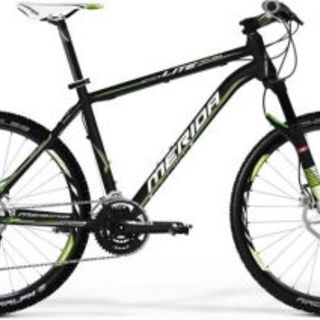 Merida Bikes - MATTS LITE 2000-D-FRM 19 BLACK/TEAM GREEN - FRAME ONLY