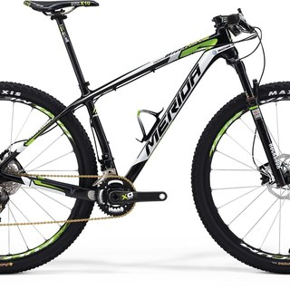 "Merida Bikes - 14 BIG NINE CARBON TM-FRM 29""*17 UDCRBWHT/GRN - FRAME ONLY"