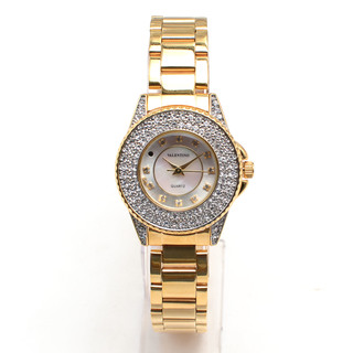 VALENTINO WOMEN'S ANALOG WATCH 20121730-GOLD - SILVER DIAL
