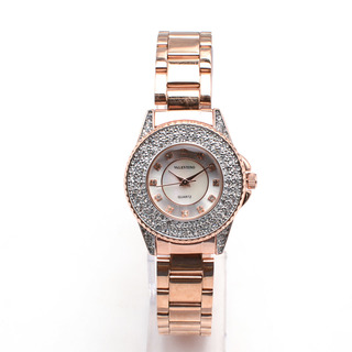 VALENTINO WOMEN'S ANALOG WATCH 20121730-ROSE GOLD - WHITE DIAL