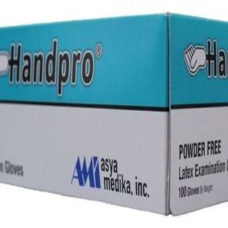 Handpro Exam Gloves (Powder-Free) , Box of 100 pieces - AM007