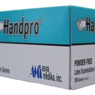 B1T1 INTRODUCTORY PROMO Handpro Exam Gloves (Powder-Free) , Box of 100 pieces - AM012