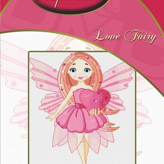 DMC INSPIRATIONS CROSS-STITCH KIT: LOVE FAIRY (ECK-050)
