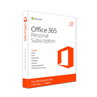 Microsoft Office 365 - Personal Subscription
