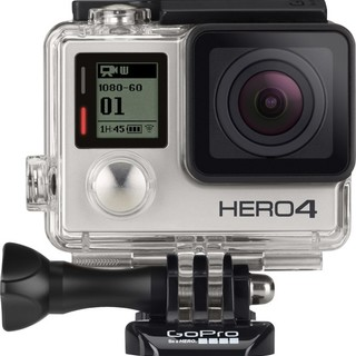 GoPro HERO4 Standard Action Camera (Silver)