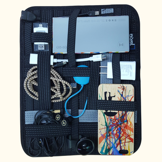 1Accessories 1Grid Gadget Organizer and Tablet Sleeve (ZTHE040011)