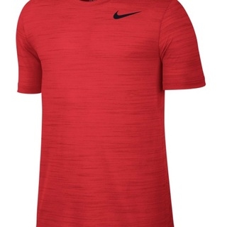 NIKE AS DRI-FIT TOUCH SS HEATHER (RED) (644370-696)