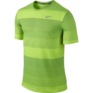 NIKE AS NIKE DF COOL TAILWIND STRP (NAVY GREEN/GRAY) (646796-702)