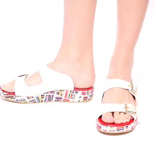 M&G Basha Platforms - 2 MG550 (White)