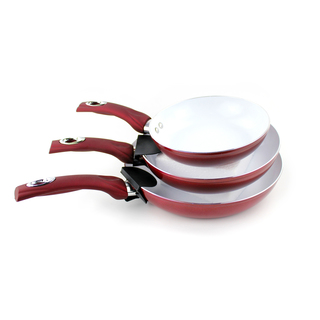 Nonstick Ceramic Coated Frying Pan 3 Pcs (PND-HONHEY3PC)