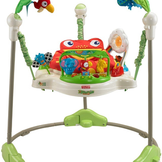 Fisher Price Rainforest Jumperoo Baby Jumper Walker Bouncer Activity Seat (PP-FP-JUMPEROO)