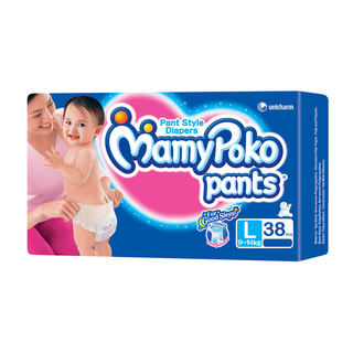 Mamypoko Diapers Large 38's - 8851111400195 (2340803)