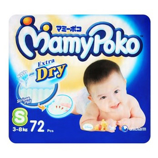 Mamypoko Diapers Small 72's - 8851111400386 (2423464)