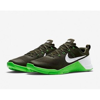 NIKE METCON 1 - BLACK, COOL GREY, GREEN (704688-313)