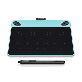 Wacom CTL-490/B0 Intuos Draw Pen Small (Mint Blue)