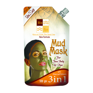 BIO SPA Mud mask 3 in 1 with Olive Leafs Extract 500g (BP 103)