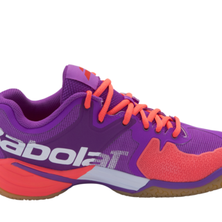 Baboloat SHADOW TOUR W Badminton Shoes PURPLE/WHT