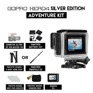 GoPro Hero 4 Adventure Kit