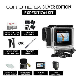 GoPro Hero 4 Expedition Kit