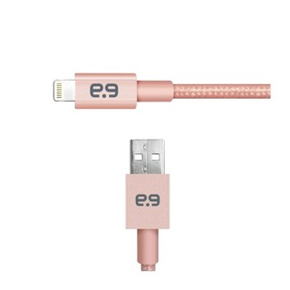 Puregear 4Ft. Mettalic Lightning Cable - Rose Gold