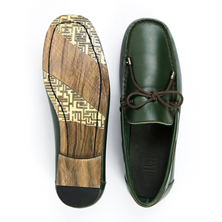 Filipino Handcrafted Shoes Leandro Green