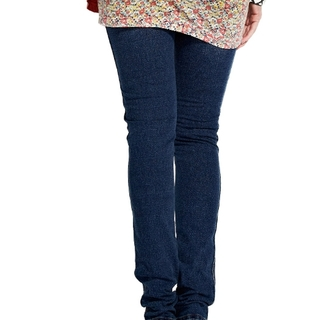 Ultra Stretchy Skinny Maternity Jeans - 14502N (NAVY)