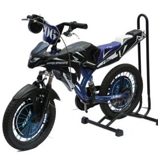 Nitecore Bikes Moto Bike 16 Hyper Speedone Spoke's Type black with blue (MOTO-16-HYPER-BLU)