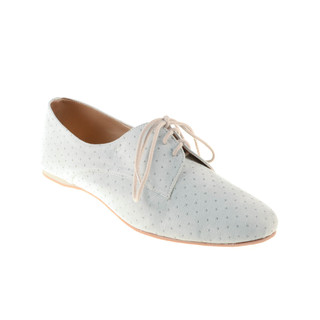 Wander Brooklyn Oxfords with Kisses Studs (Bone)