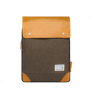 Venque Flatsquare HER Laptop Bag - Brown
