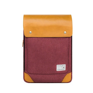 Venque Flatsquare HER Laptop Bag - Wine Red