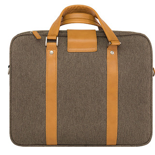 Venque Hamptons Briefcase Laptop Bag - Brown