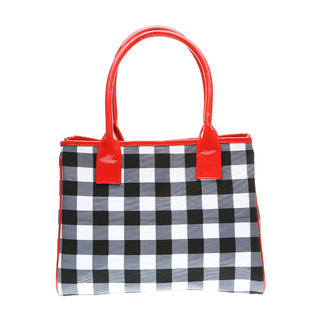 MCV Designs Women's Bag  JOJO BAG Black Checks