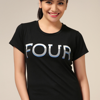 The Perfect White Shirt DIVERGENT: FOUR TATTOO SHIRT (Female) Tee