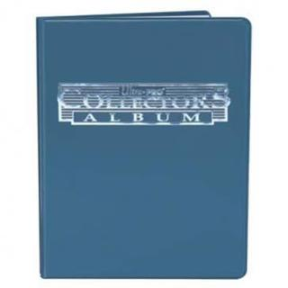 4-Pocket Blue Collectors Portfolio