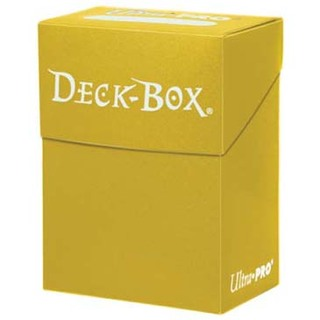 Yellow Deck Box