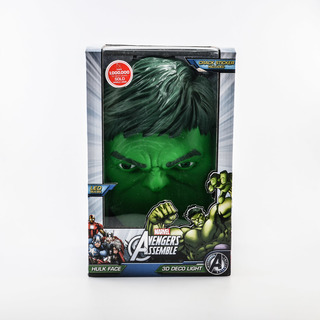 Marvel 3D Deco Light Hulk Head